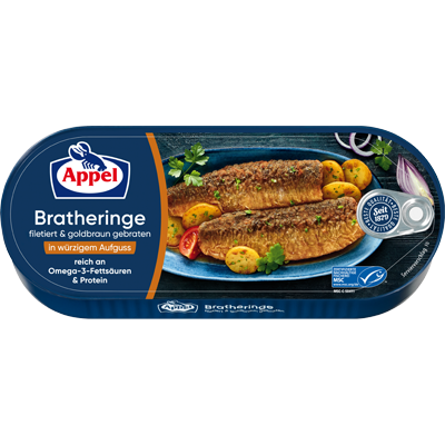 Filetierte Bratheringe